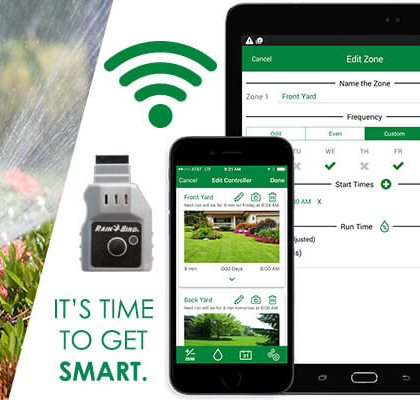 Sprinkler System Smart Technology App